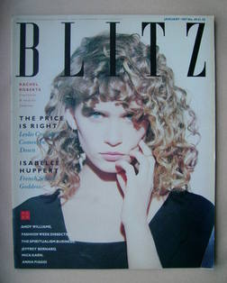 <!--1987-01-->Blitz magazine - January 1987 - Rachel Roberts cover