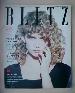 Blitz magazine - January 1987 - Rachel Roberts cover