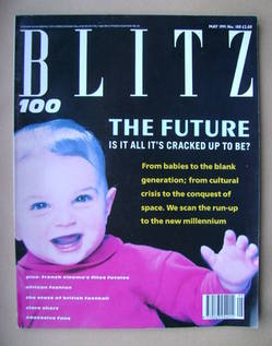 <!--1991-05-->Blitz magazine - May 1991 (Issue No. 100)