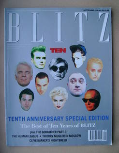 <!--1990-09-->Blitz magazine - September 1990 (Issue No. 93)