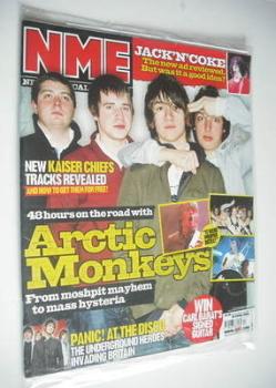 NME magazine - Arctic Monkeys cover (29 April 2006)