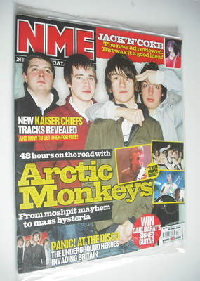 <!--2006-04-29-->NME magazine - Arctic Monkeys cover (29 April 2006)