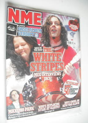 <!--2005-05-28-->NME magazine - The White Stripes cover (28 May 2005)