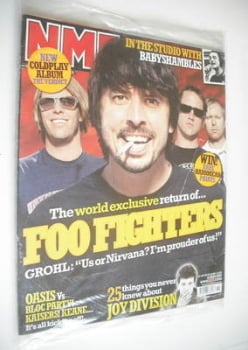 NME magazine - Foo Fighters cover (14 May 2005)