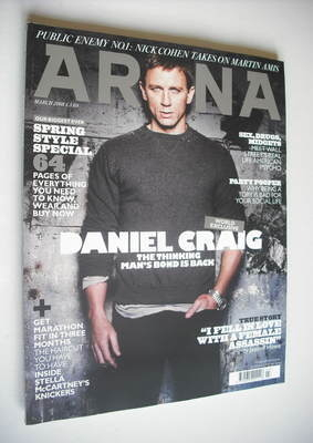 <!--2008-03-->Arena magazine - March 2008 - Daniel Craig cover