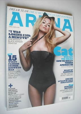 <!--2008-04-->Arena magazine - April 2008 - Cat Deeley cover