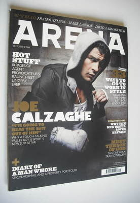 <!--2008-05-->Arena magazine - May 2008 - Joe Calzaghe cover