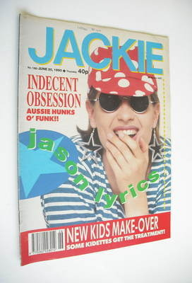 <!--1990-06-30-->Jackie magazine - 30 June 1990 (Issue 1382)