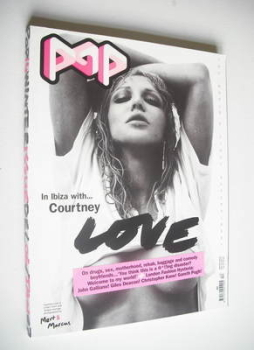 POP magazine - Courtney Love cover (December 2006/January 2007)