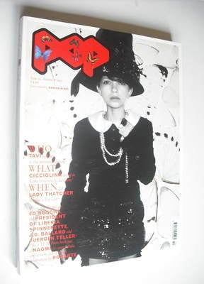 <!--2009-09-->POP magazine - Tavi Gevinson cover (Autumn/Winter 2009)