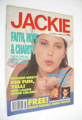 <!--1990-07-14-->Jackie magazine - 14 July 1990 (Issue 1384)