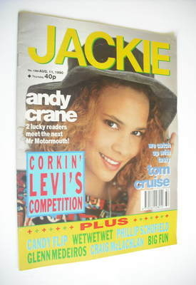 <!--1990-08-11-->Jackie magazine - 11 August 1990 (Issue 1388)