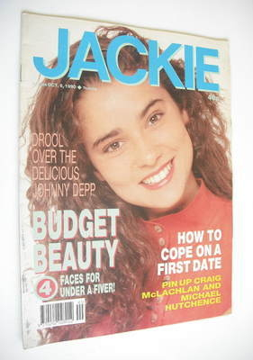 <!--1990-10-06-->Jackie magazine - 6 October 1990 (Issue 1396)
