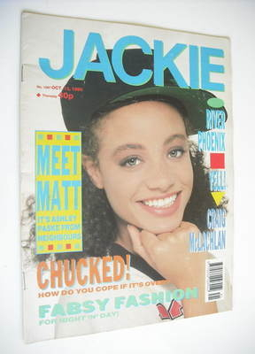 <!--1990-10-13-->Jackie magazine - 13 October 1990 (Issue 1397)