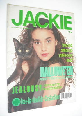 <!--1990-10-27-->Jackie magazine - 27 October 1990 (Issue 1399)