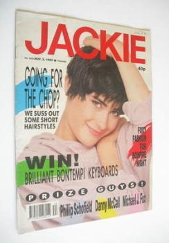 Jackie magazine - 3 November 1990 (Issue 1400)