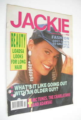 <!--1990-11-24-->Jackie magazine - 24 November 1990 (Issue 1403)