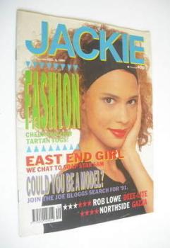 Jackie magazine - 8 December 1990 (Issue 1405)