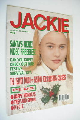 <!--1990-12-22-->Jackie magazine - 22 December 1990 (Issue 1407)