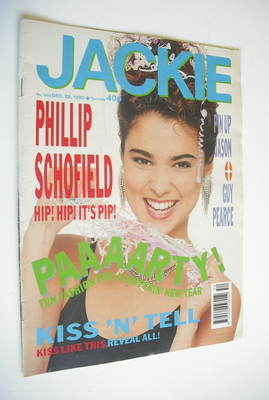 <!--1990-12-29-->Jackie magazine - 29 December 1990 (Issue 1408)