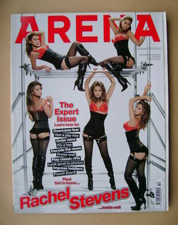 <!--2005-10-->Arena magazine - October 2005 - Rachel Stevens cover