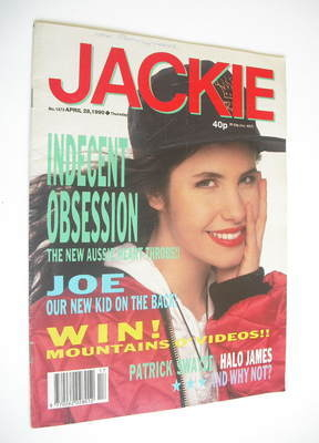 <!--1990-04-28-->Jackie magazine - 28 April 1990 (Issue 1373)