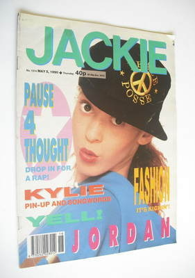 <!--1990-05-05-->Jackie magazine - 5 May 1990 (Issue 1374)