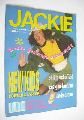 <!--1990-05-12-->Jackie magazine - 12 May 1990 (Issue 1375)
