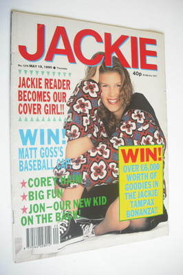 <!--1990-05-19-->Jackie magazine - 19 May 1990 (Issue 1376)
