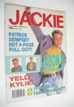 Jackie magazine - 2 June 1990 (Issue 1378)