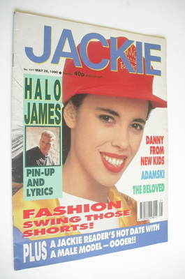 <!--1990-05-26-->Jackie magazine - 26 May 1990 (Issue 1377)