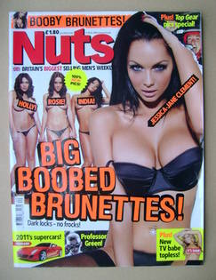 <!--2010-10-08-->Nuts magazine - Jessica-Jane Clement cover (8-14 October 2