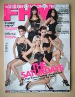 <!--2009-03-->FHM magazine - The Saturdays cover (March 2009)