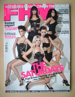<!--2009-03-->FHM magazine - The Saturdays cover (March 2009)