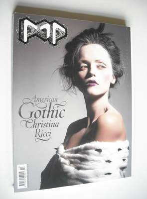 <!--2004-09-->POP magazine - Christina Ricci cover (Autumn/Winter 2004)