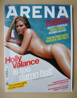 <!--2006-10-->Arena magazine - October 2006 - Holly Valance cover