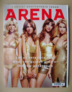 <!--2006-11-->Arena magazine - November 2006 - 20th Anniversary Issue