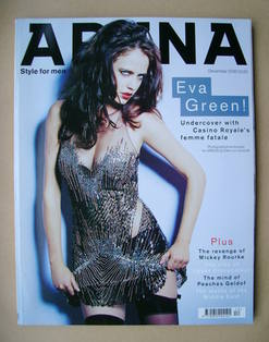 <!--2006-12-->Arena magazine - December 2006 - Eva Green cover