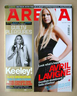 <!--2007-04-->Arena magazine - April 2007 - Avril Lavigne cover