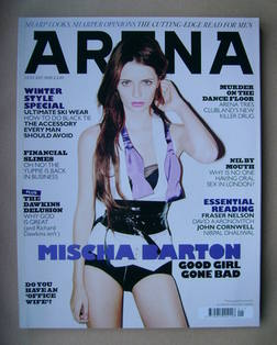<!--2008-01-->Arena magazine - January 2008 - Mischa Barton cover
