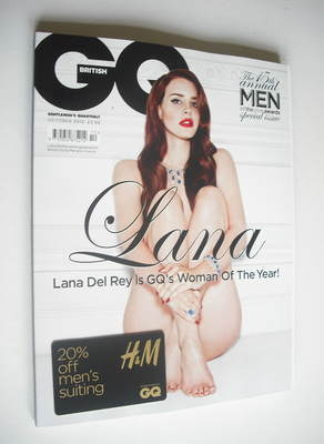 <!--2012-10-->British GQ magazine - October 2012 - Lana Del Rey cover