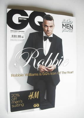 <!--2012-10-->British GQ magazine - October 2012 - Robbie Williams cover
