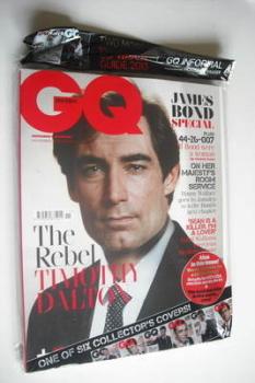 British GQ magazine - November 2012 - Timothy Dalton cover