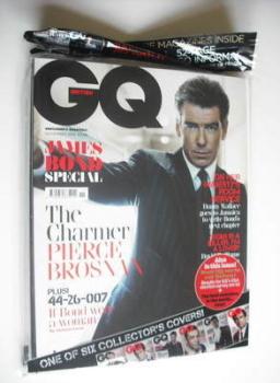 British GQ magazine - November 2012 - Pierce Brosnan cover