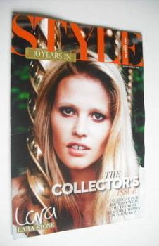 Style magazine - Lara Stone cover (23 September 2012)
