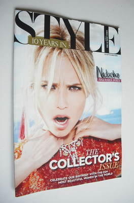 <!--2012-09-23-->Style magazine - Natasha Poly cover (23 September 2012)