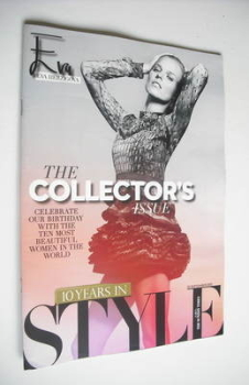 Style magazine - Eva Herzigova cover (23 September 2012)