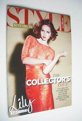 <!--2012-09-23-->Style magazine - Lily Cole cover (23 September 2012)