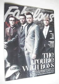 <!--2012-10-14-->Fabulous magazine - McFly cover (14 October 2012)