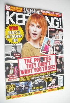 <!--2012-10-13-->Kerrang magazine - Hayley Williams cover (13 October 2012